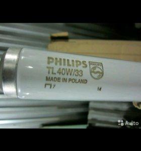 Люминесцентная лампа новая TL 40W/33 120 см