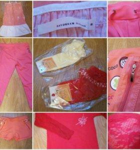 Вещи на девочку рост 140-155(шорты,бриджы,сарафан