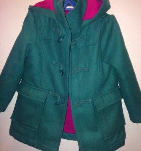 Детское пальто для девочки crazi 8