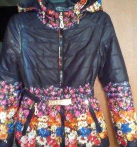 Курточка для девочки,весна