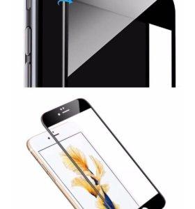 3д стекла на iPhone 6/6s/7/6 plus/7+/5/4/8/8+/х