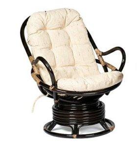 Кресло-качалка из ротанга Флорес