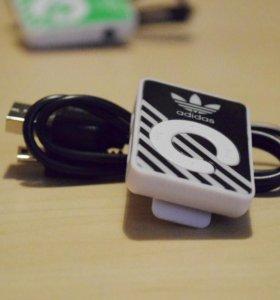 MP3 плеер Adidas на прищепке