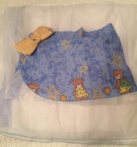 Балдахин на детскую кроватку новый