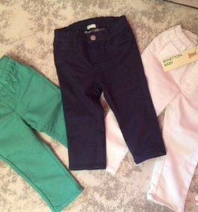 Джинсы, брюки Benetton Baby