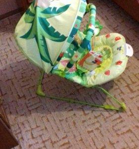 Шезлонг и игровой коврик + подарочек !