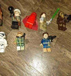 Лего мини фигурки по фильму Звёздные войны.