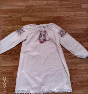 Славянское платье