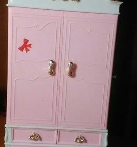 Кукольный шкаф/ мебель для кукол
