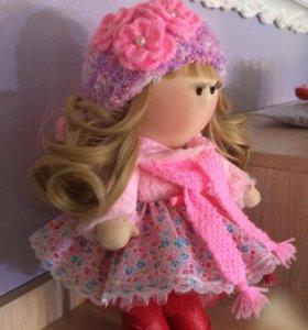 Интерьерная кукла ручной работы, Подарок