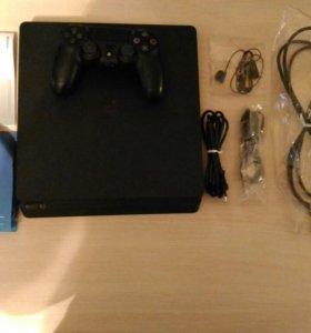 Sony Play station 4 + игры
