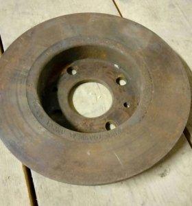 Тормозной диск на ваз 2108