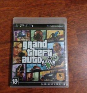 Grand theft auto V (GTA 5) ГТА 5 на PlayStation 3