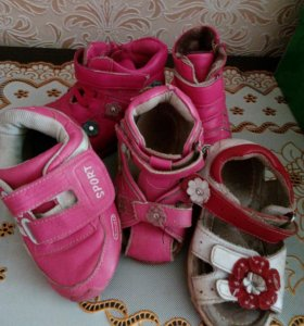 Обувь в ассортименте за 1 пару
