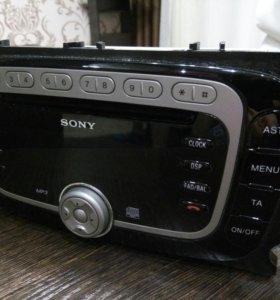 Магнитола Sony на форд фокус 2