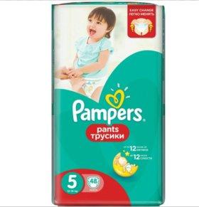 Трусики-подгузники Pampers Pants 5 (12-18 кг) 48 ш
