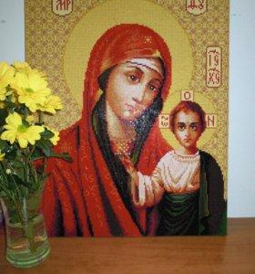 Алмазная Вышивка (икона Божией Матери Казанская)