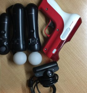камера,контролеры(все),насадка,зарядка
