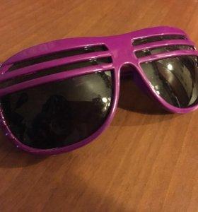 Очки солнцезащитные фиолетовые