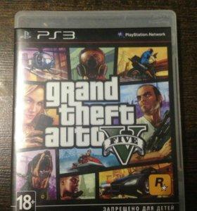 Диск GTA 5 для PS3