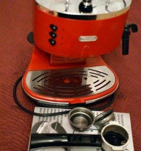 Кофемашина кофеварка Delonghi eco 310 icona