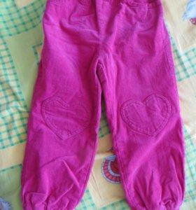 Новые брюки рост 110