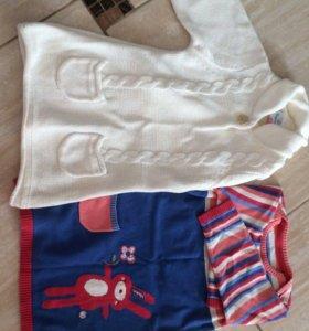 Детские тёплые платья