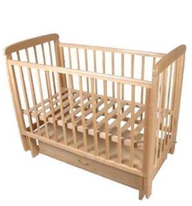 Детская кроватка Соня с-05