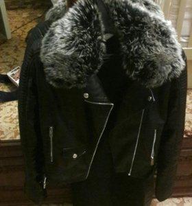 Куртка кожний