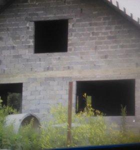 Дом недостроенный в ст.Ханской