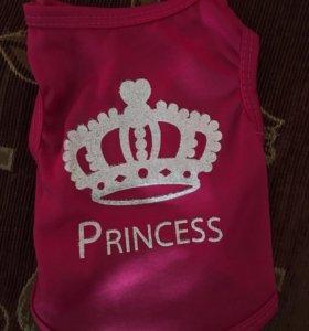 Майка для питомца,для настоящей принцессы XS