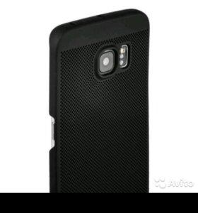 Кейс для Samsung Galaxy S6 Edge Loopee черный