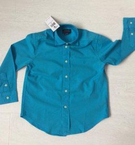 Новая рубашка Ralph Lauren 5T