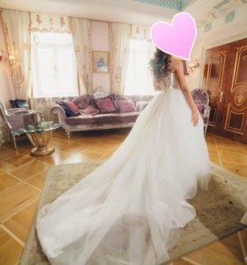 Свадебнле платье для принцессы