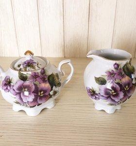 Сахарница и сливочник Royal Porcelain