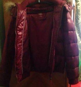 Куртка пуховик размер 48