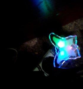 Ночник светодиодный Бабочка