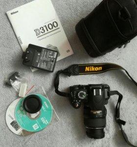 Nikon D3100 kit 18—55 VR