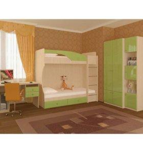Кровать бамбук