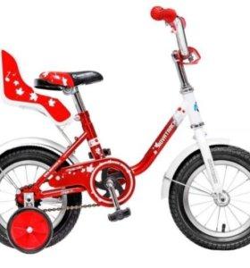 Новый дет велосипед от склада (12дюймов)