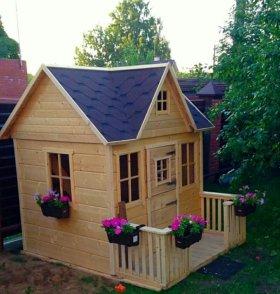 Детский домик #1