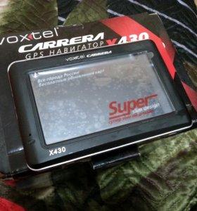 Навигатор Voxtel Carrera X430