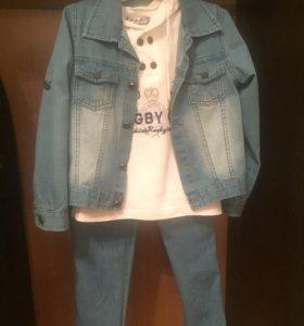 """Продаётся джинсовый костюм """"Baby Muz"""""""