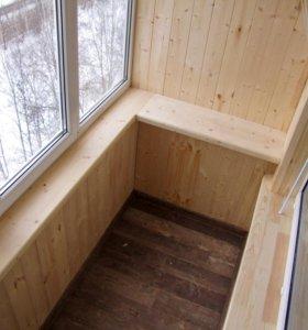 Остекление и отделка балконов и лоджий