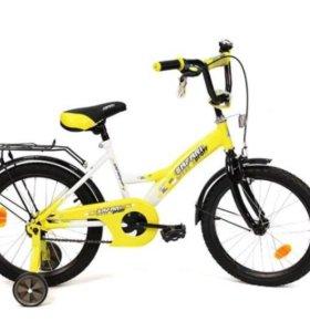 Новый дет велосипеды 14 дюймов (о склада)