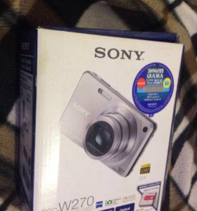 фотоаппарат Sony Cyber-shot w270