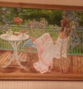 Картина масло,холст 40х60