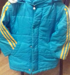 Куртка  демисезонная р122-128
