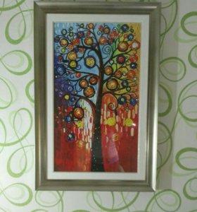 """Картина """"Дерево желаний"""""""