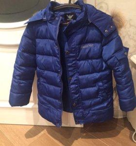 Тёплая куртка Armani